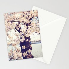 Cherry Tree in bloom Stationery Cards