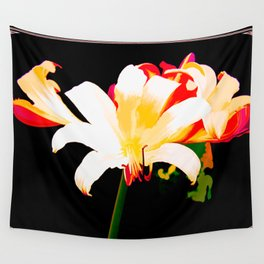 Song Of The Lilies Wall Tapestry