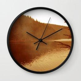 FIRE LAKE Wall Clock
