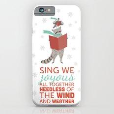 Raccoon & Pigeon Holiday! iPhone 6s Slim Case