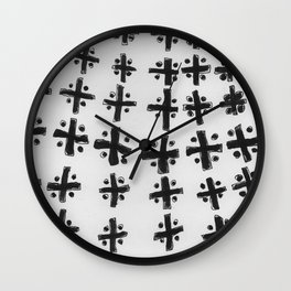 Pattern Meditation Wall Clock