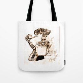 WALL-ace Tote Bag
