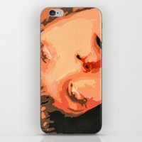 mia wallace iPhone & iPod Skins featuring Mia Wallace by yayanastasia
