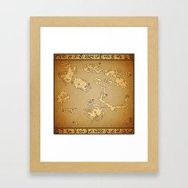 FF6 world of Ruin Framed Art Print
