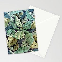 William Morris Herbaceous Italian Laurel Acanthus Textile Floral Leaf Print  Stationery Cards