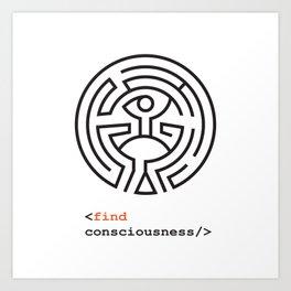 Host Consciousness Art Print