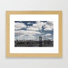 New York City II Framed Art Print