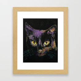 Shadow Cat Framed Art Print