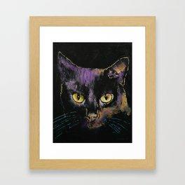 Shadow Cat Framed Art Print