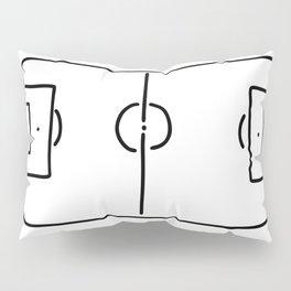 soccer football field Pillow Sham