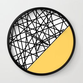 Lazer Dance YY Wall Clock