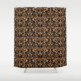 Leopard Suede Shower Curtain