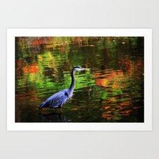 Magic Waters Art Print