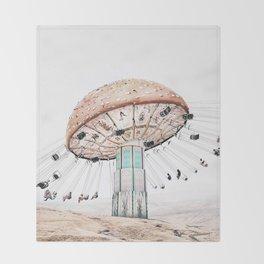 Mushroom Carousel Throw Blanket