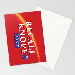 Recall Knope Stationery Cards
