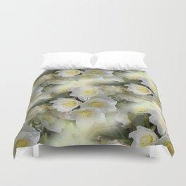 flowers -12- seamless pattern Duvet Cover