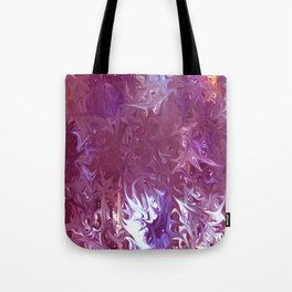 Star Burst Pink  - JUSTART ©, Digital art Tote Bag