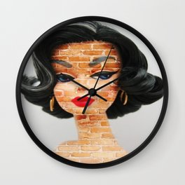 Ava Doll Wall Clock