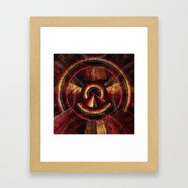 Time Warp Framed Art Print