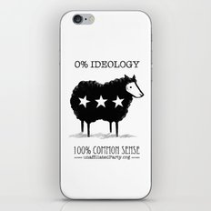 Unaffiliated Party Flyer iPhone & iPod Skin