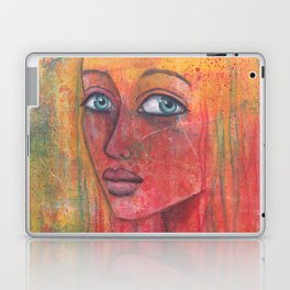 Let go of what harms you, practice what heals you Laptop & iPad Skin