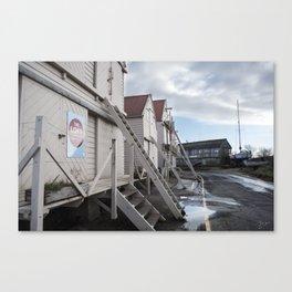 Sea Wall | Tollesbury England Canvas Print