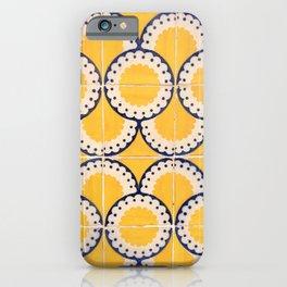 Portuguese Pattern iPhone Case