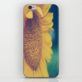 sunflower day iPhone Skin