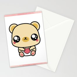 BEAR-Y LOVABLE FRAMED Stationery Cards