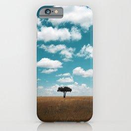 Masai Mara National Reserve III iPhone Case