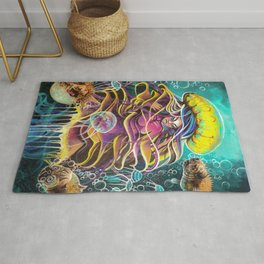 Jelly Maiden  Rug