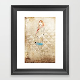Girl One Framed Art Print