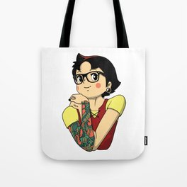 All Grown Up (Colour) Tote Bag