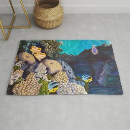 The Gathering - Coral Reef Rug