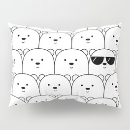 That Cool Polar Bear Pillow Sham