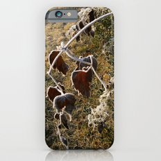 Frozen Leaves Slim Case iPhone 6s
