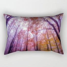 Tall Tall Trees Rectangular Pillow