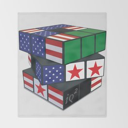 The U.S. Has No Dog In The Fight In Syria Throw Blanket