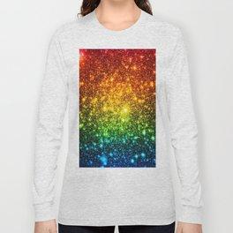 RainBoW Sparkle Stars Long Sleeve T-shirt