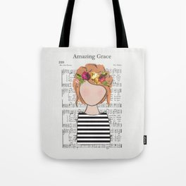 Amazing Grace - Redhead Tote Bag