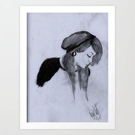Beanie Art Print
