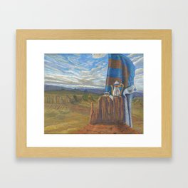 Still Life On Mesa Framed Art Print
