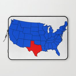 The State of Texas Position Laptop Sleeve