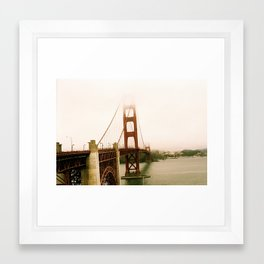 GG Bridge San Francisco Framed Art Print
