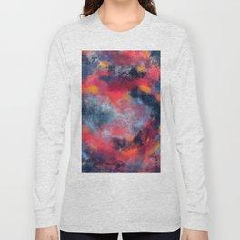 Abstract Texture Digital Painting Long Sleeve T-shirt
