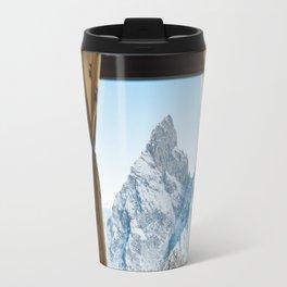 Looking at the Mountains Travel Mug