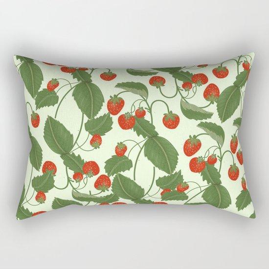 Strawberry Fields Rectangular Pillow