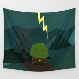 Glooming Ork Wall Tapestry