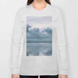 Epic Sky reflection in Iceland - Landscape Photography Long Sleeve T-shirt