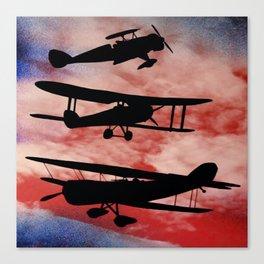 WAR PLANES Canvas Print